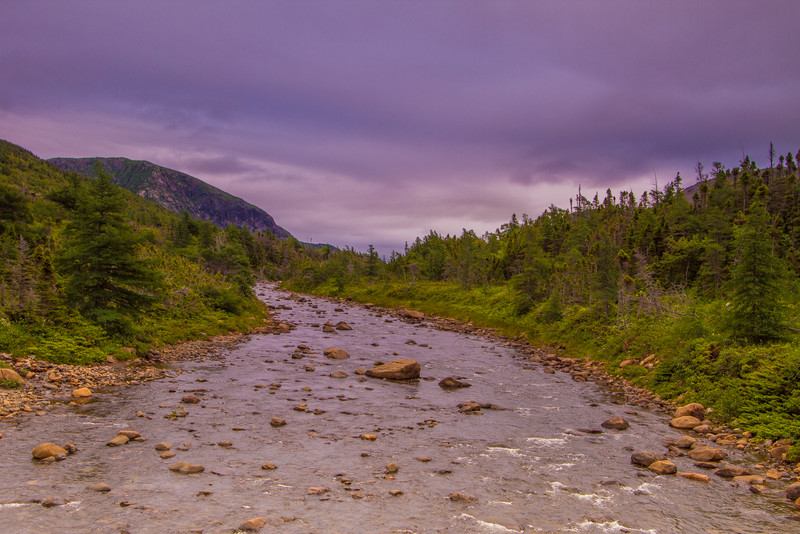 Wallace Brook trail, Gros Morne National Park, Newfoundland