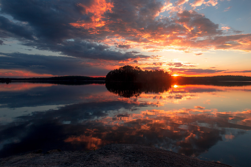 Chippewa Campground, Quetico Provincial Park, Ontario