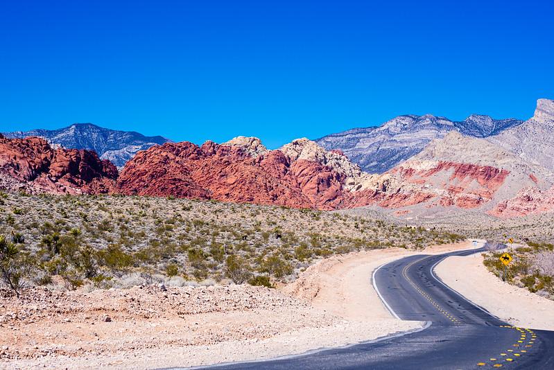 Red Rocks Canyon, outside Las Vegas, NV.