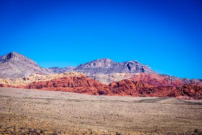 Red Rocks Canyon, outside Las Vegas, Nevada.