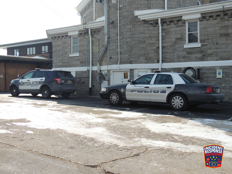 Sheboygan Police investigated a possible burglary at Ss. Cyril and Methodius, located at 822 New Jersey Avenue in Sheboygan, Wisconsin on Friday, March 7, 2014. Photo by Asher Heimermann/Incident Response.