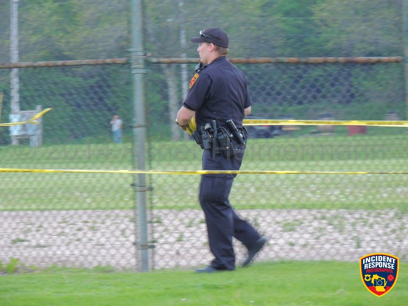 Sheboygan Police responded to a shooting at Kiwanis Park in Sheboygan, Wisconsin on Saturday, May 31, 2014. Photo by Asher Heimermann/Incident Response.