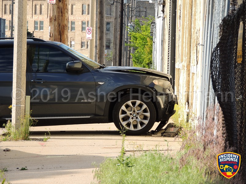 Four men sustained injuries in a shooting near North 34th Street and West Hadley Street in Milwaukee, Wisconsin on Wednesday, June 26, 2019. Bullet casings can be seen scattered in the street. Photo by Asher Heimermann/Incident Response.