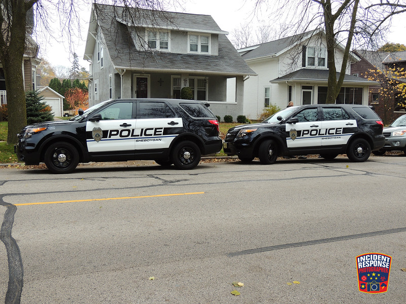 An alleged impaired driver was arrested after an off-duty detective observed erratic driving in Sheboygan, Wisconsin on Wednesday, November 4, 2015. Photo by Asher Heimermann/Incident Response.