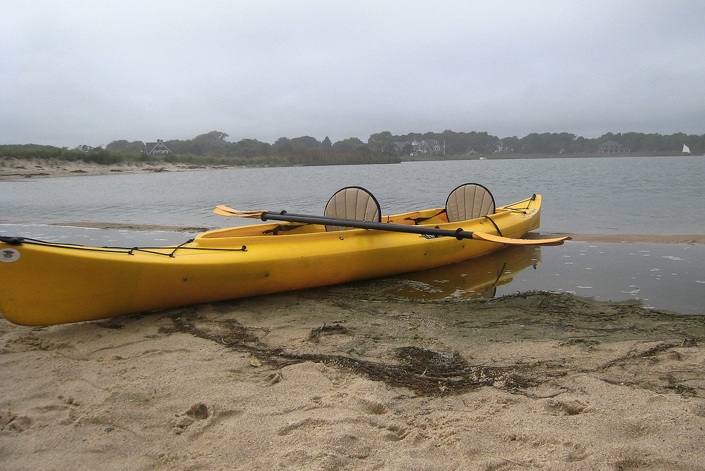 Kayak, Georgica Pond, East Hampton (c) 2010