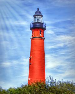 Ponce de Leon Lighthouse at Ponce Inlet, Florida