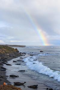 Rainbow's end.