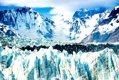Margerie Glacier Closeup