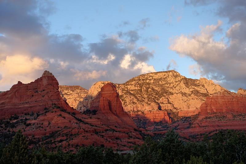 Sphinx Mountain Sunset, Sedona, Arizona (c) 2014