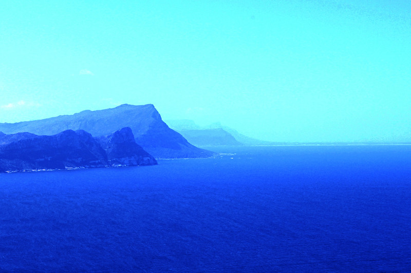 Seascape outside Capetown (c) 2011