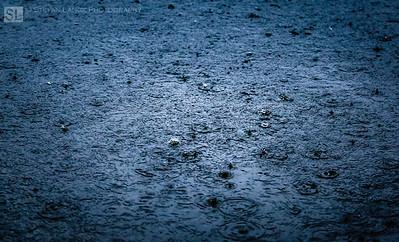 Rain on a River