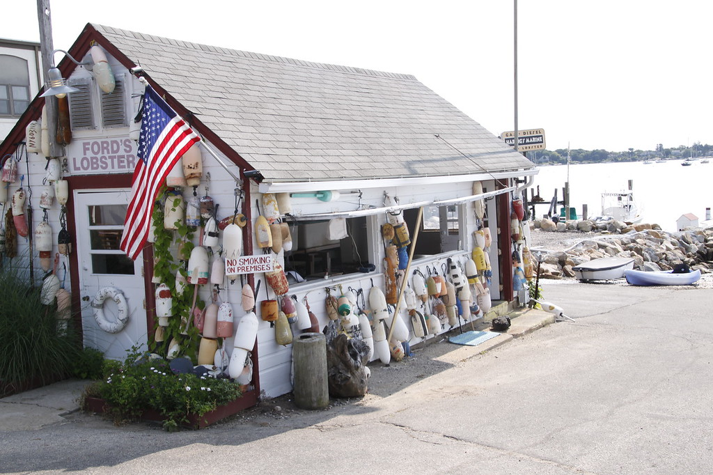Ford's Lobster and Tackle Shop, Noank, CT (c)2014