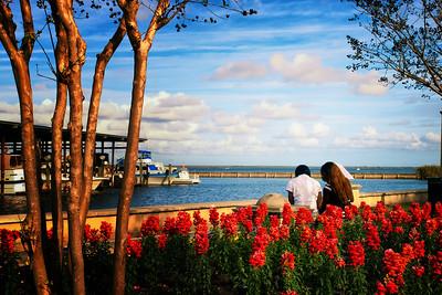 City of Sanford Riverwalk along Lake Monroe