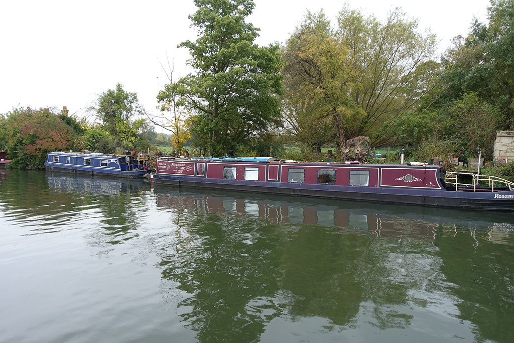 River boat on the Thames, Oxford, UK (c)2015