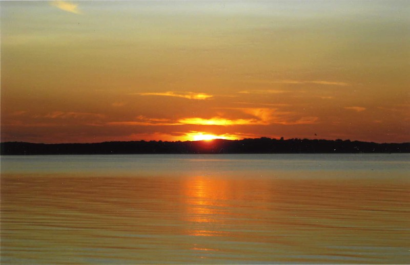 Sunset on Napeaque Bay, LI (c) 2009