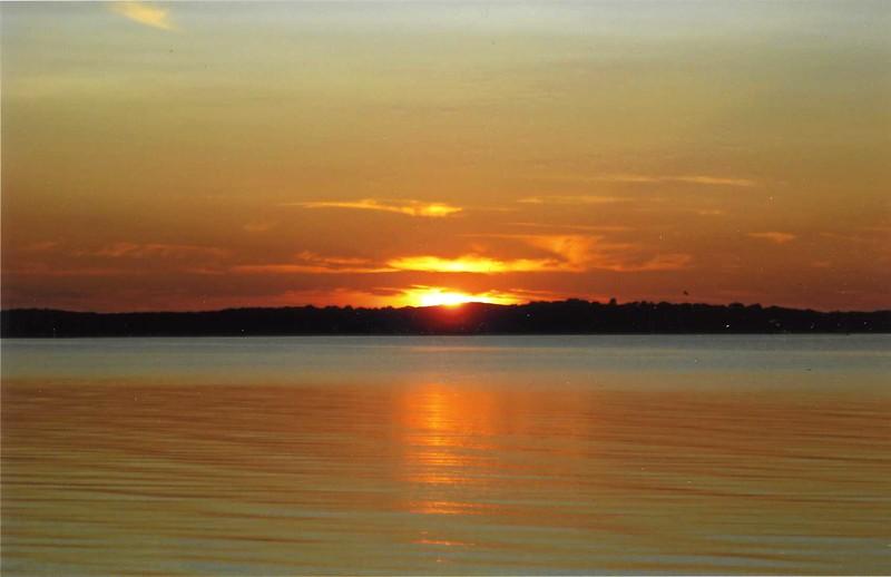 Sunset on Napeaque Bay, LI (c)2009