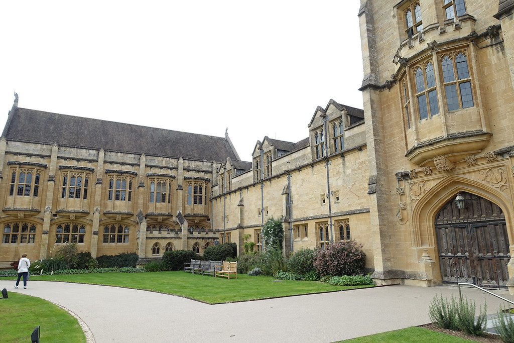 Mansfield College, Oxford, entrance (c)2015