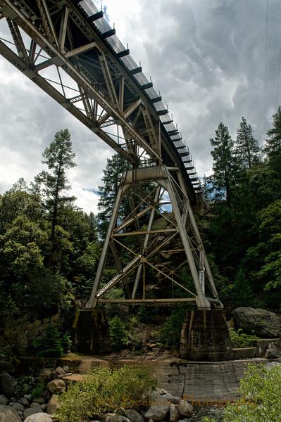 Railroad Roller Coaster at Rock Creek, Plumas, CA