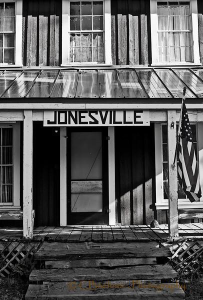 Jonesville Inn Porch