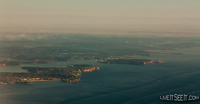 Sydney Heads, February 2012 Sydney Heads, February 2012, shot on an early morning flight to Qld