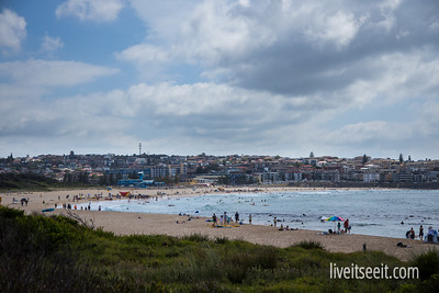 Looking back over Maroubra Beach, from Malabar Headland Coastal Walk