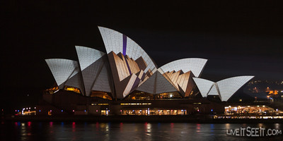 Vivid Sydney Opera House Moving images projected onto the Sydney Opera House sails as part of the Vivid Sydney Festival 2012