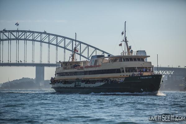 Sydney Ferries vessel Freshwater