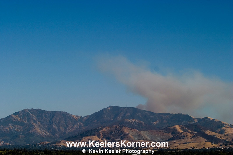 Curry Canyon Fire August 24, 2010