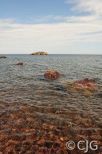 A Calm Lake Superior