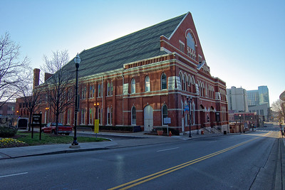 The Ryman Auditorium in Nashville TN