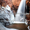 Rainbow Falls in the Winter, El Paso County, Colorado