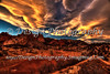 Sunset, Garden of the Gods, Colorado Springs, Colorado