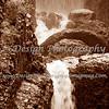 Sepia Waterfall, Colorado