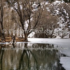 Chalk Lake in Winter