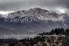 Pikes Peak from Rampart Range Road