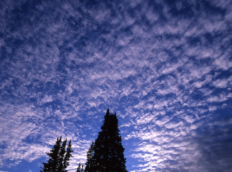 """Dawn""<br /> <br /> Beautiful morning clouds in the Wasatch Range, Utah."
