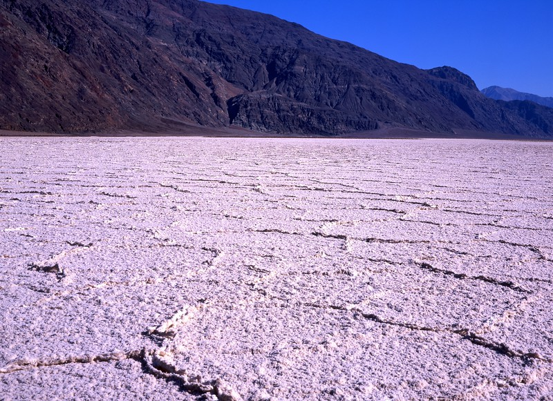 Salt Flats; Badwater, Death Valley National Park, California