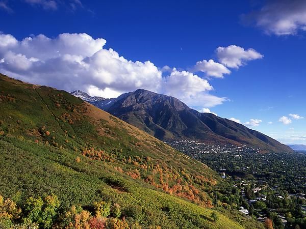 Mount Olympus & Salt Lake Valley