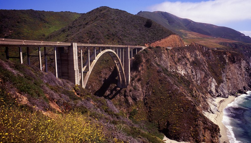 Bixby Bridge Panorama