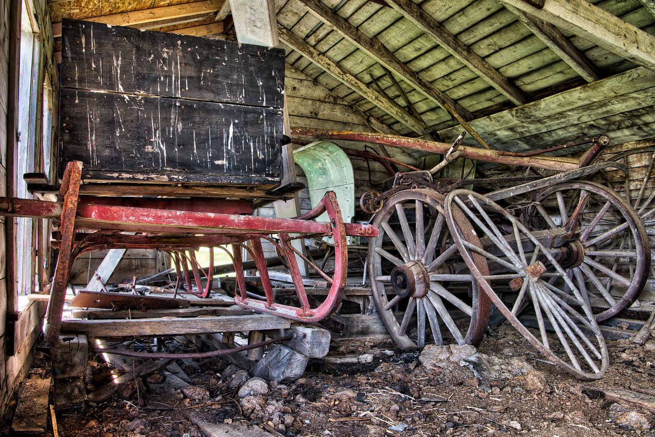 Sleighs & Carriage Wheels