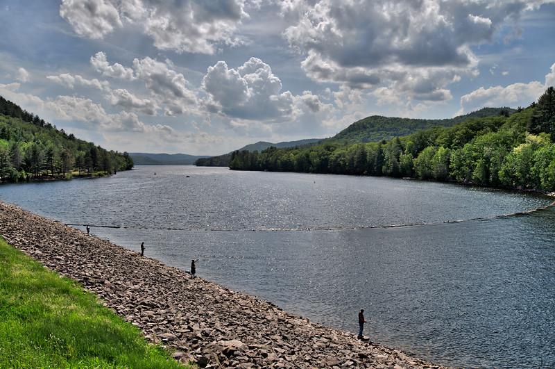 Great Sacandaga Lake at Conglingville Dam