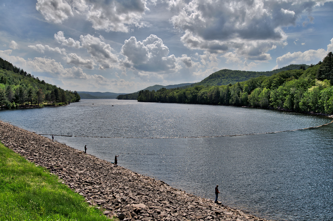 Great Sacandaga Lake at Conglingville Dam