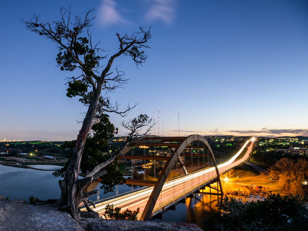 Pennybacker Bridge Overlook