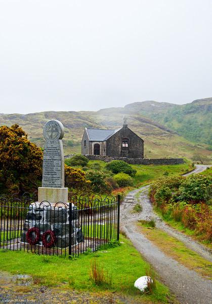 Stone church, Isle of Mull
