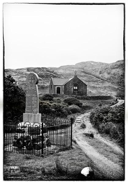 Stone church on the Isle of Mull