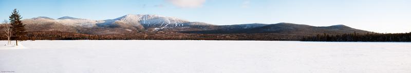 Saddleback Mountain panorama