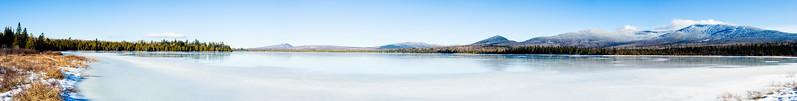 saddleback lake and mountain_pano1