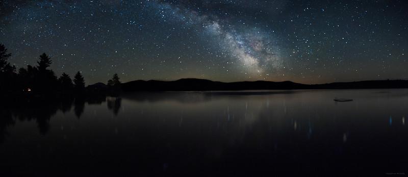The Milky Way over Saddleback Mountain.