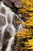 Closeup of Angel Falls taken in the autumn.