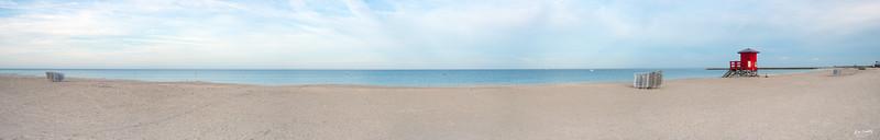 Sand Key Beach panorama